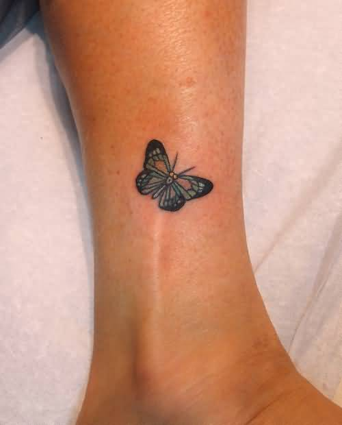 Butterfly Tattoo Legs