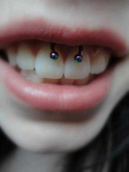 colored jewelry for smiley piercing