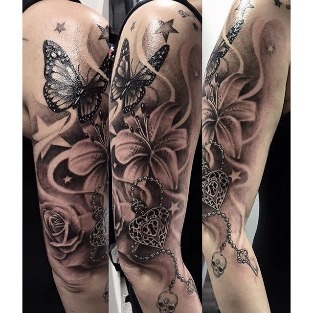 Butterfly Tattoo Sleeve 1
