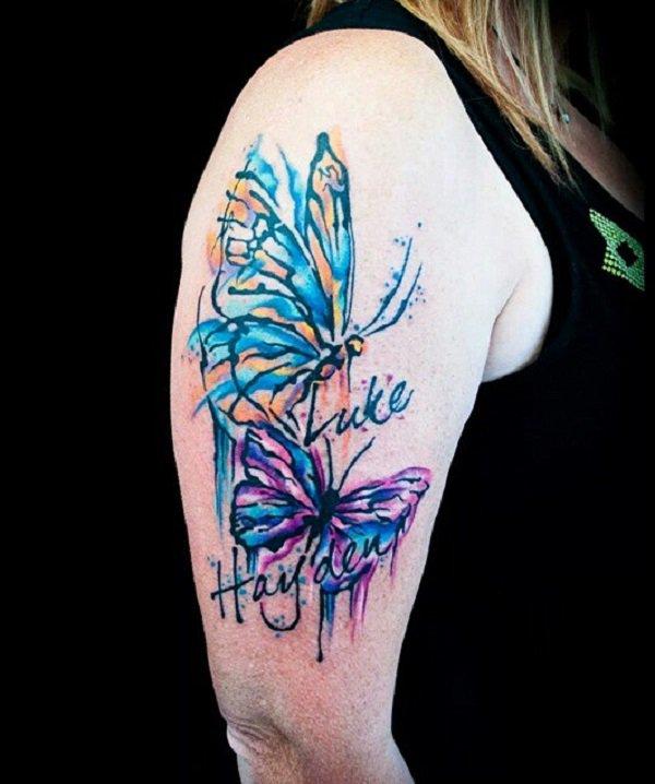 Butterfly Tattoo Sleeve 2