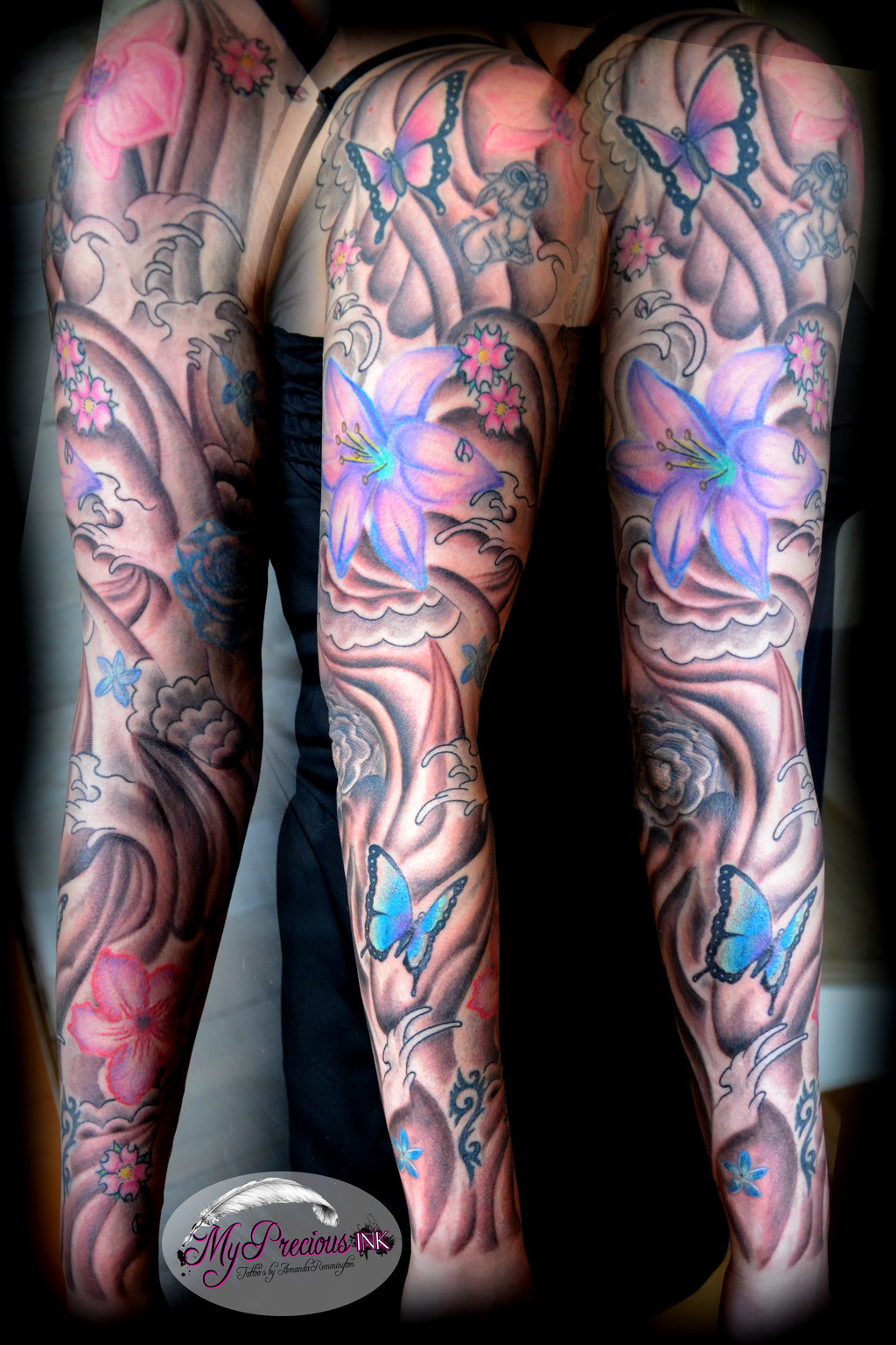 Butterfly Tattoo Sleeves 4