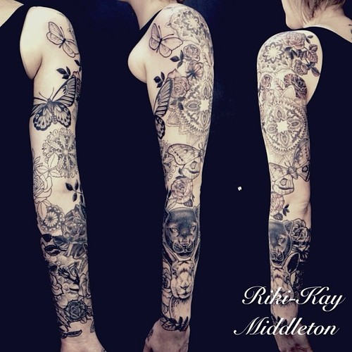 Butterfly Tattoo Sleeves 5