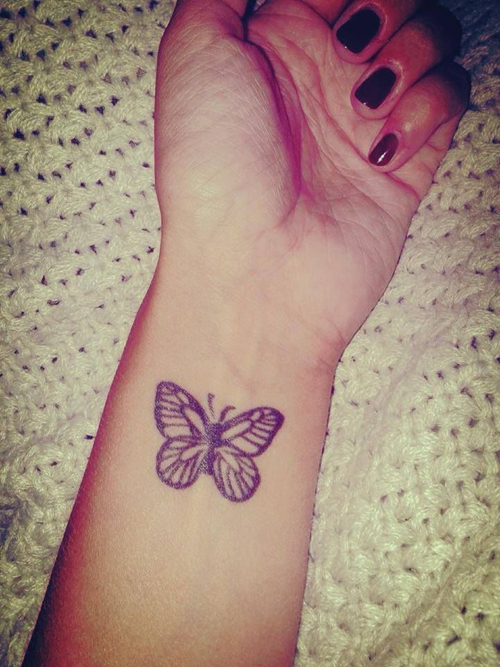 Butterfly Tattoo Wrist