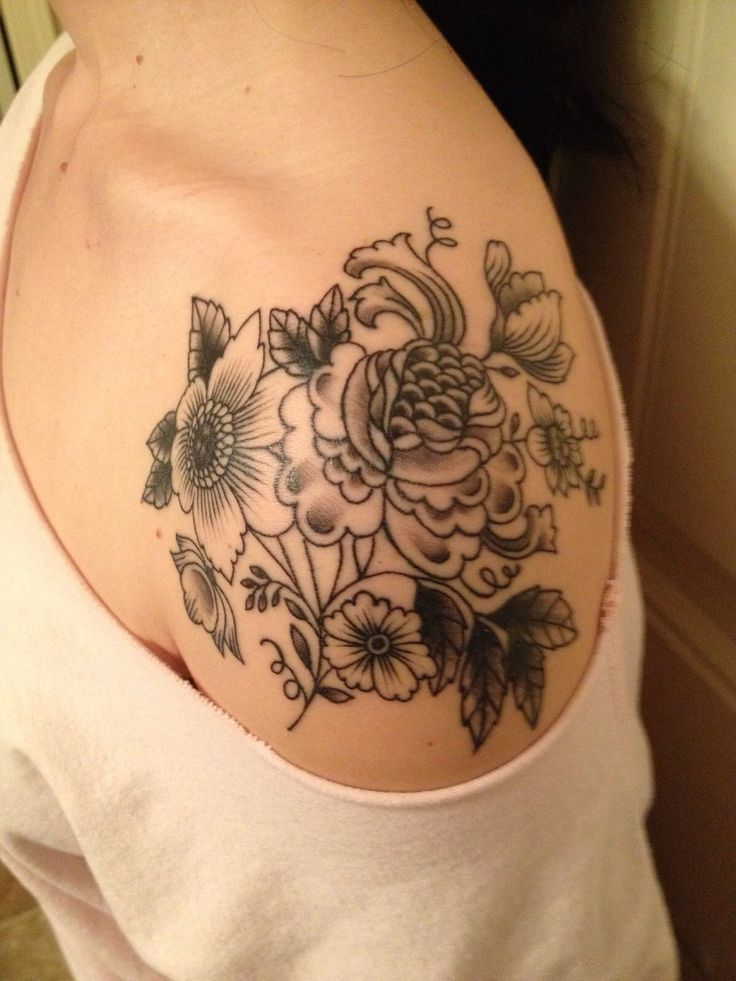 50+ Peony Tattoo Designs That Will Make Your Body A