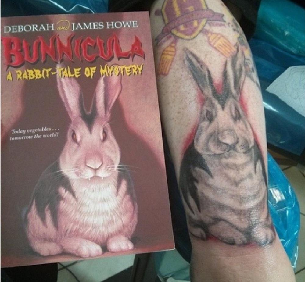 book tattoo cover