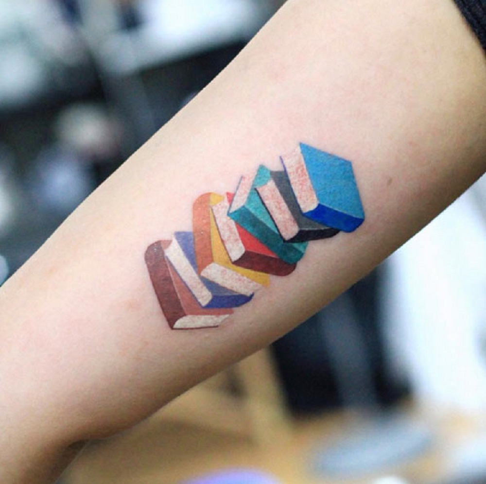 book tattoo books