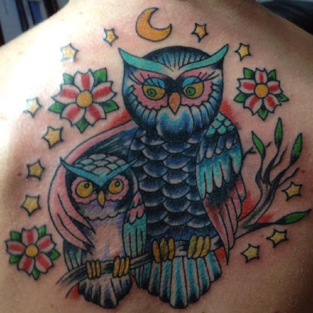 owl tattoo protective