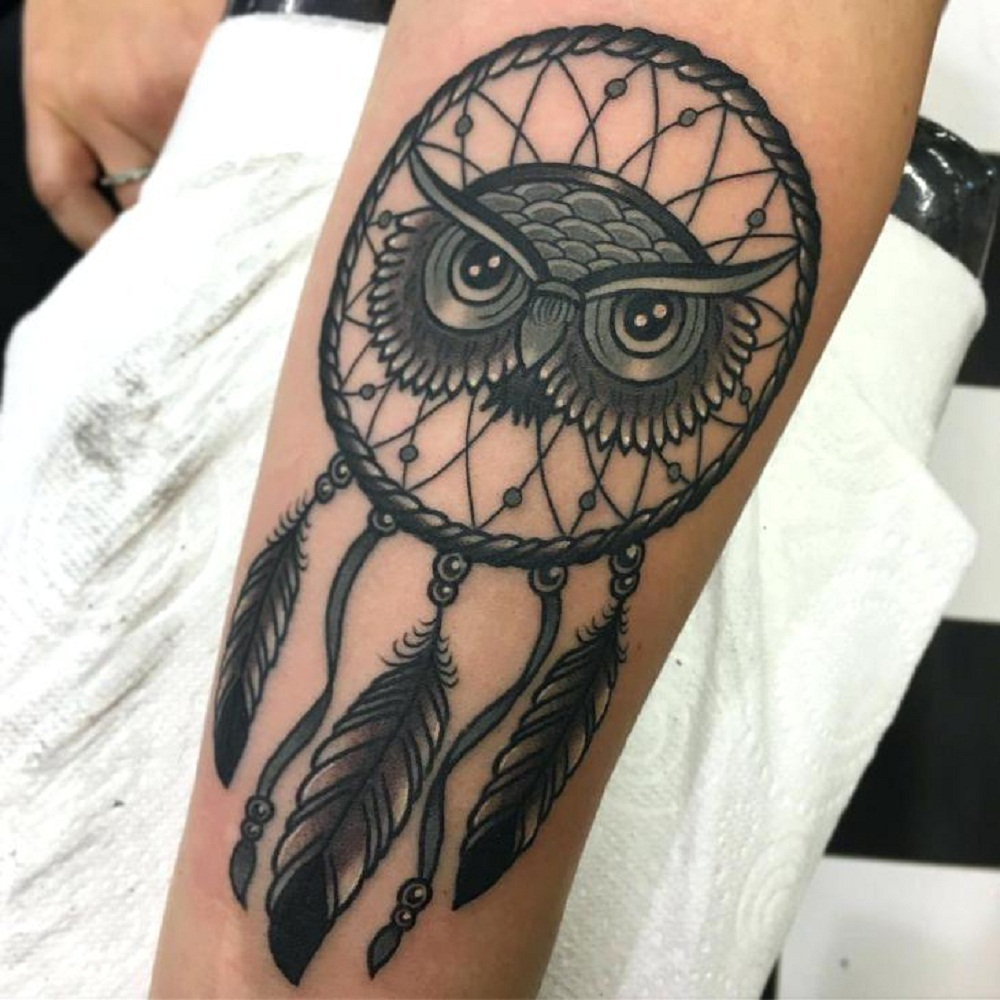 owl tattoo reamcatcher