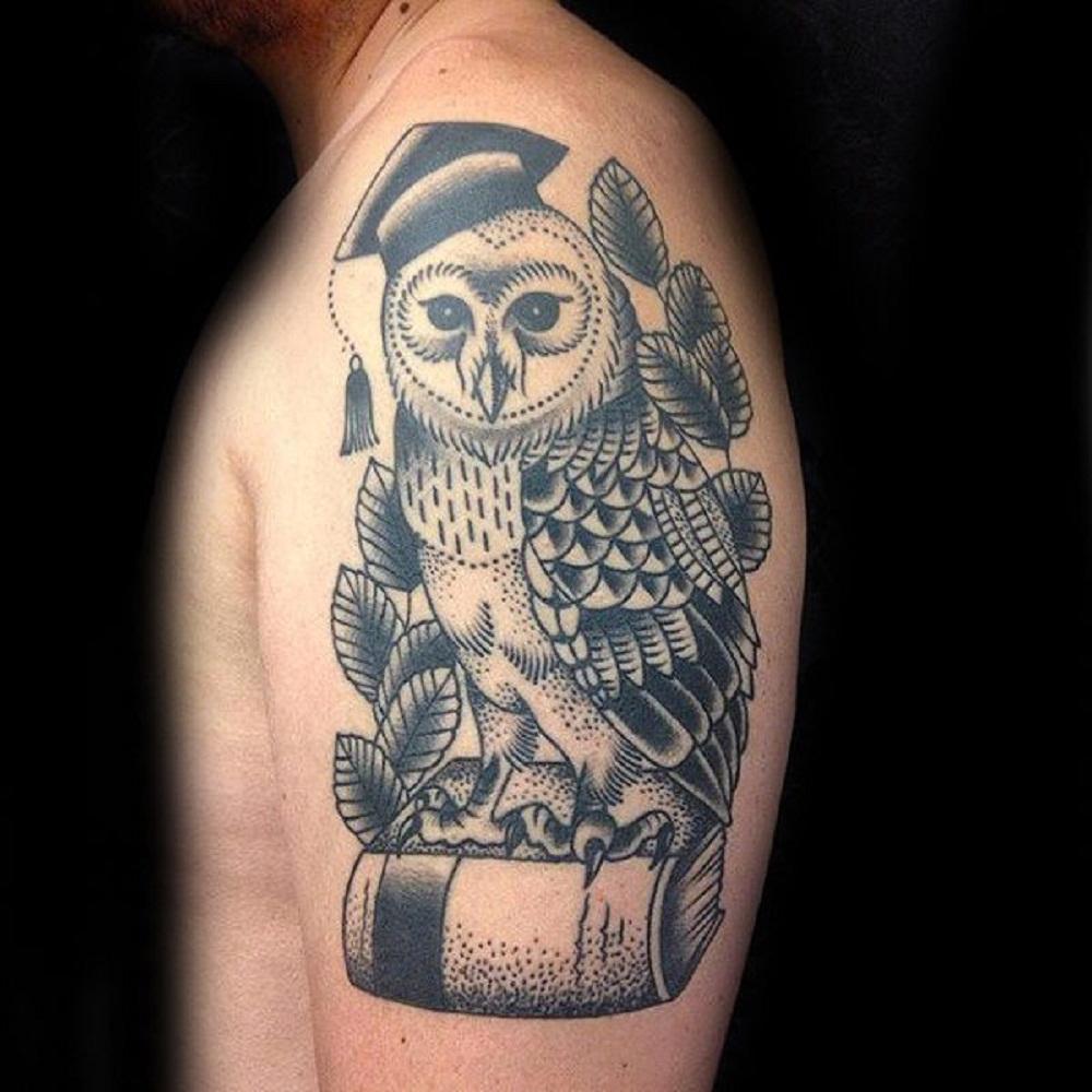 owl tattoo books