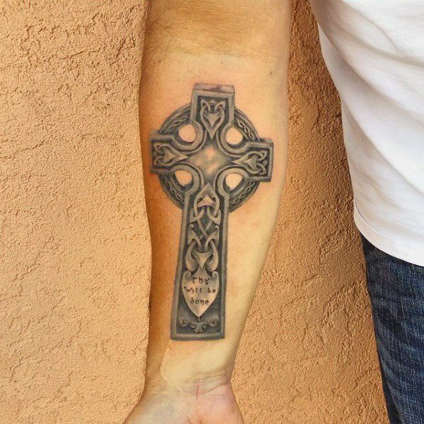 celtic cross men