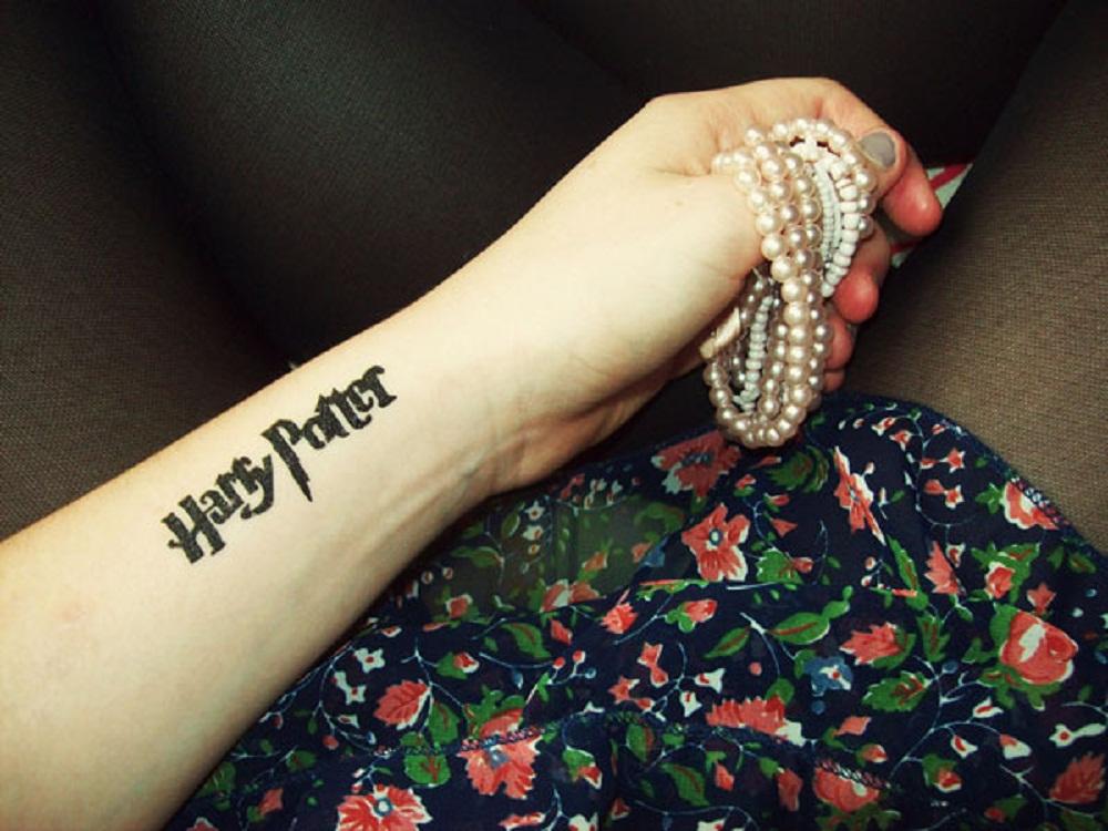 book tattoo title