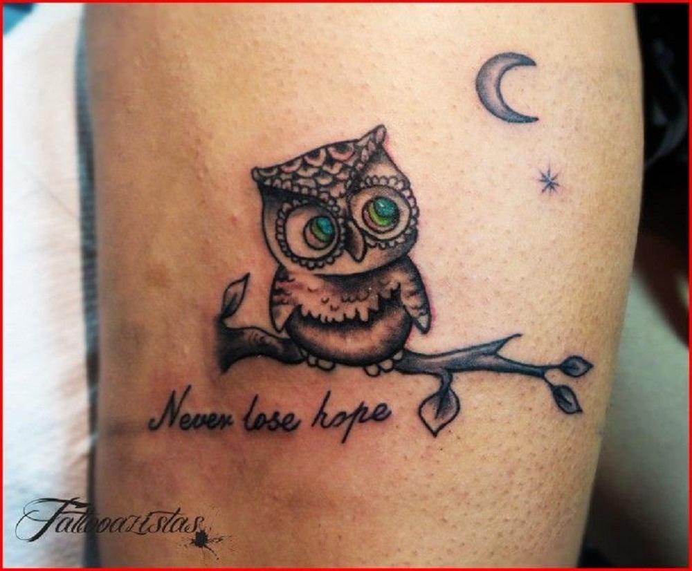 owl tattoo inspirational