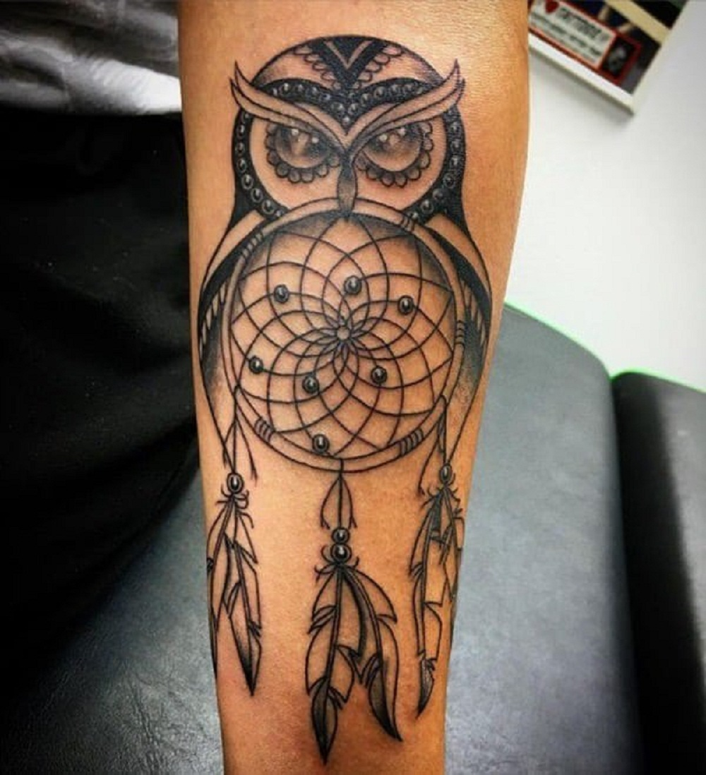 f21b625e4 50+ Owl Tattoo Designs for Every Personality - Tats 'n' Rings