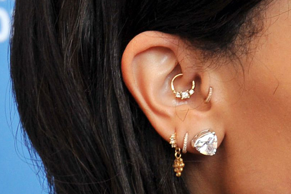 small jewelry for migraine piercing