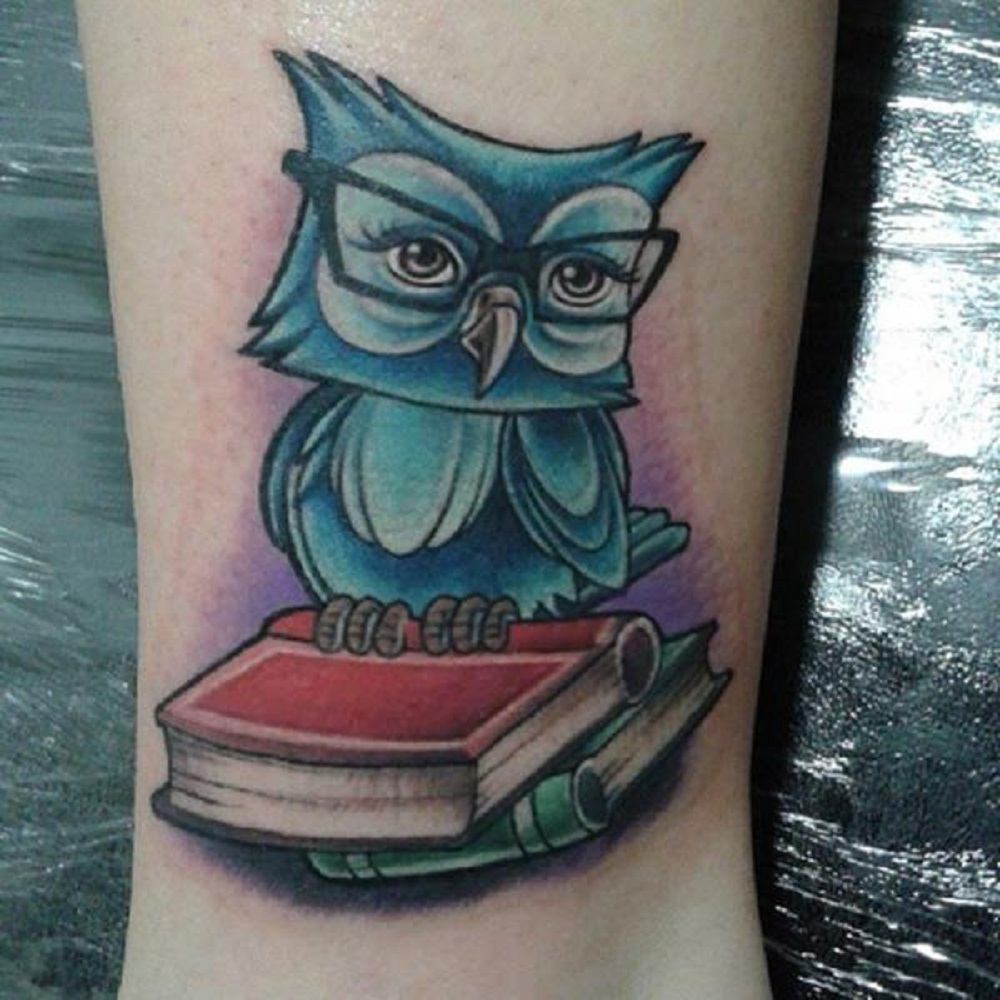 owl tattoo books