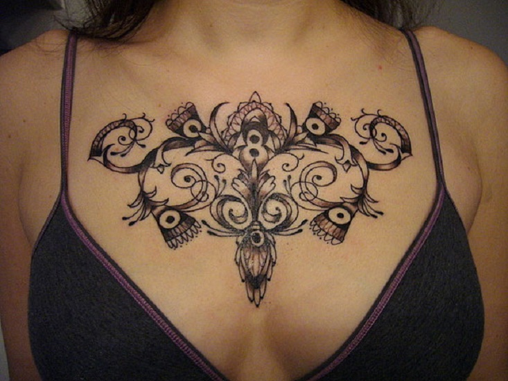 Chest Tattoos: Everything You Need To Know Plus 50+ Design