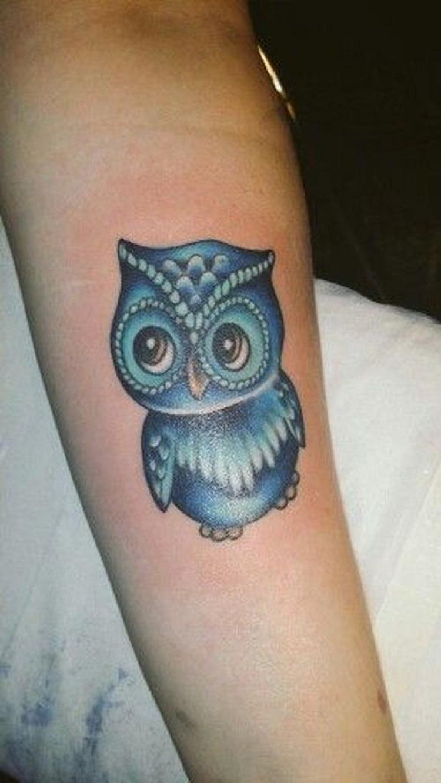 owl tattoo shy