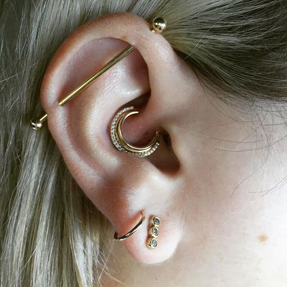 unique daith piercing