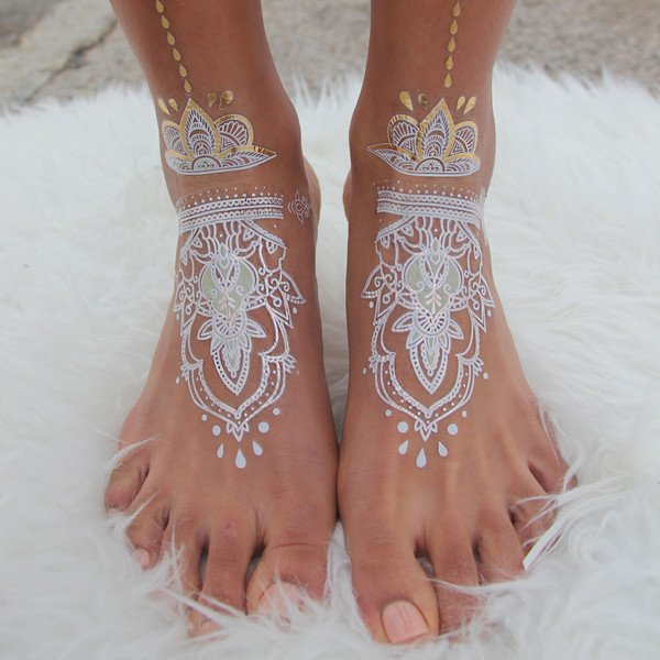 feet tattoo