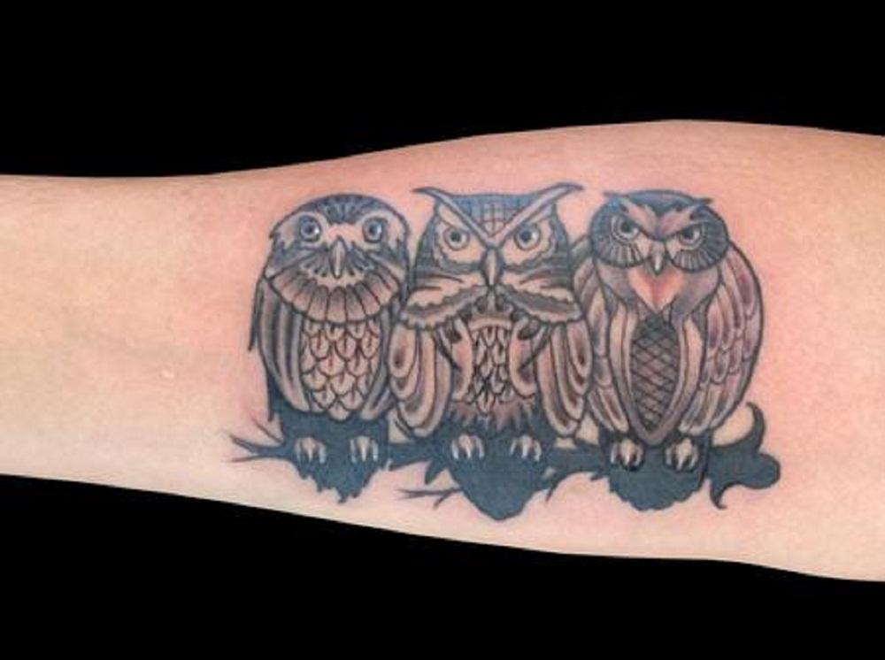 owl tattoo group