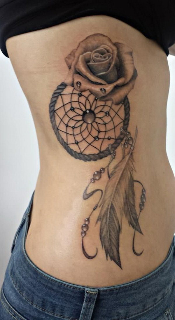 40 Cool Native American Tattoos Pictures - Hative |Native American Dreamcatcher Tattoo