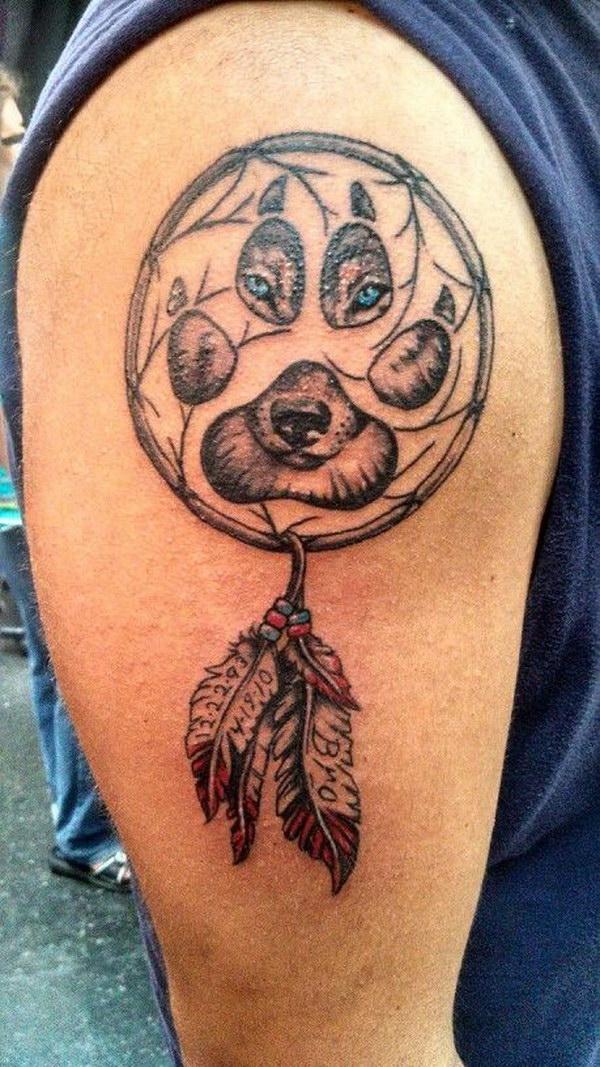 Native American Tattoos For Men | Native american tattoos ... |Native American Dreamcatcher Tattoo