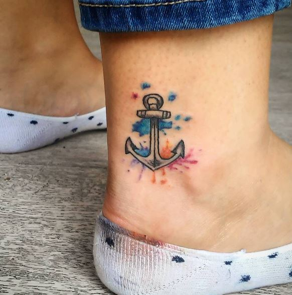 50 Anchor Tattoos That Arent Just For Sailors Tats N Rings