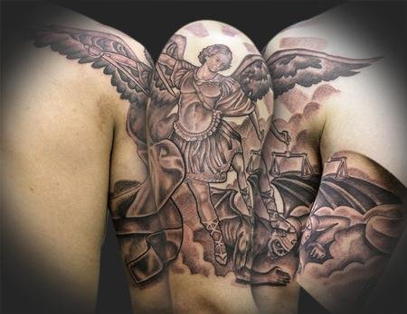 Archangel tattoo 4