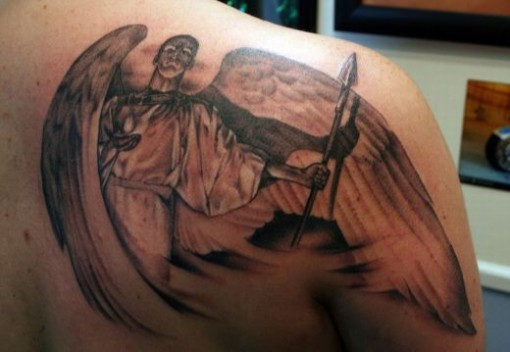 Archangel tattoo 5