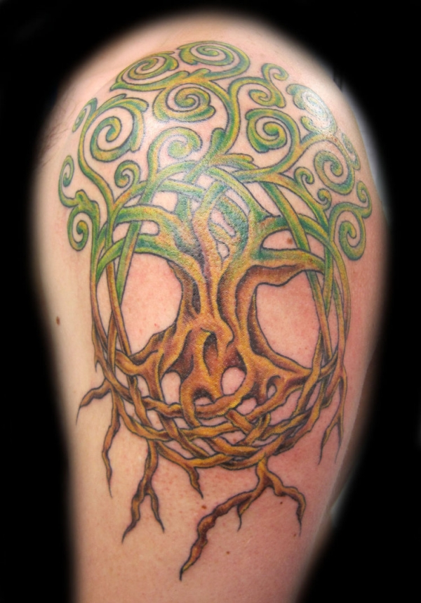 tree of life tattoo arm