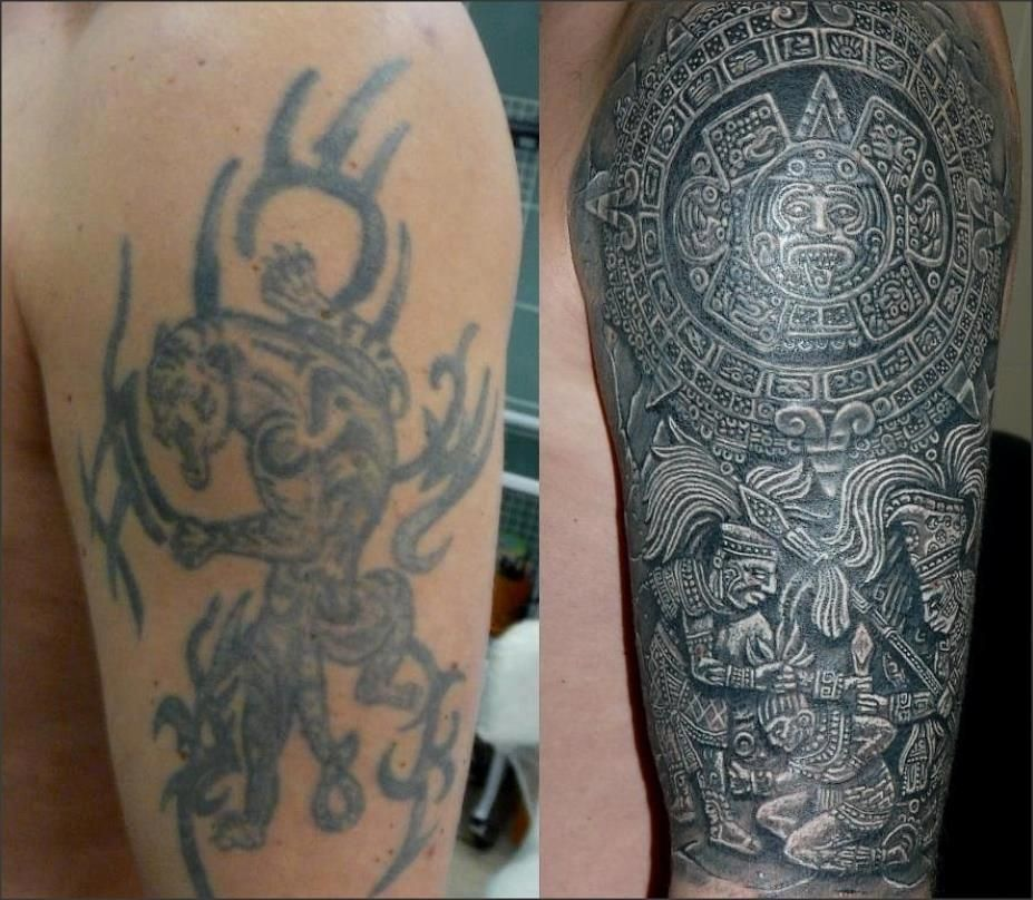 Cover Up Tattoo 1