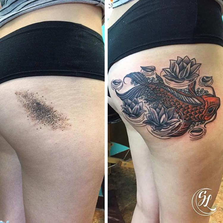 Tattoo Ideas Easy To Hide: 50+ Cover Up Tattoo Designs To Spice Up Your Old Tattoos