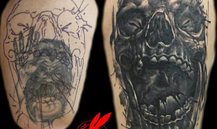 Cover Up Tattoo 7