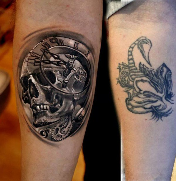 Cover Up Tattoo 8