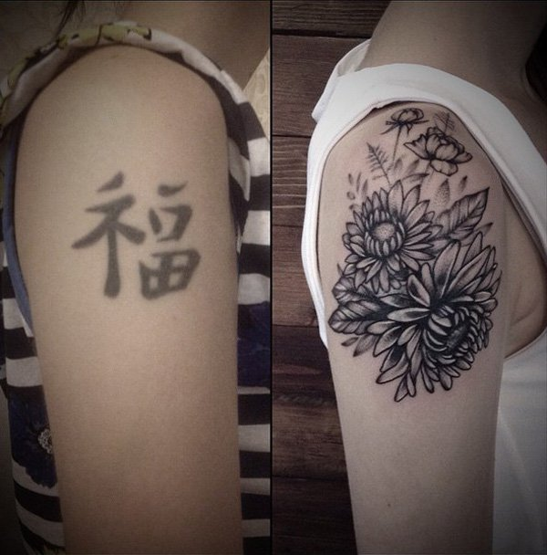 Cover Up Tattoo 9