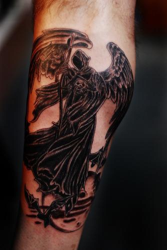 Death angel tattoo 3