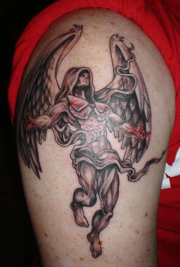 Death angel tattoo 4