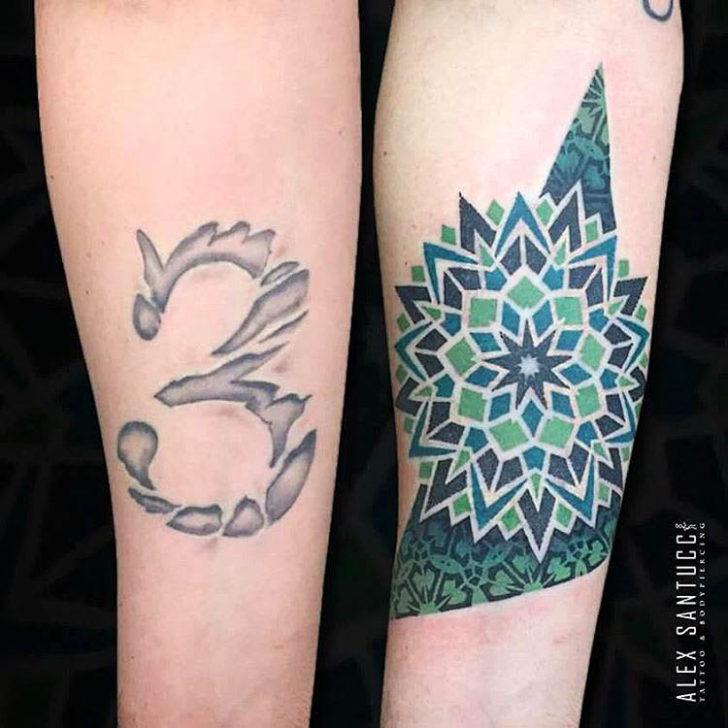 Mandala Cover Up Tattoo 2