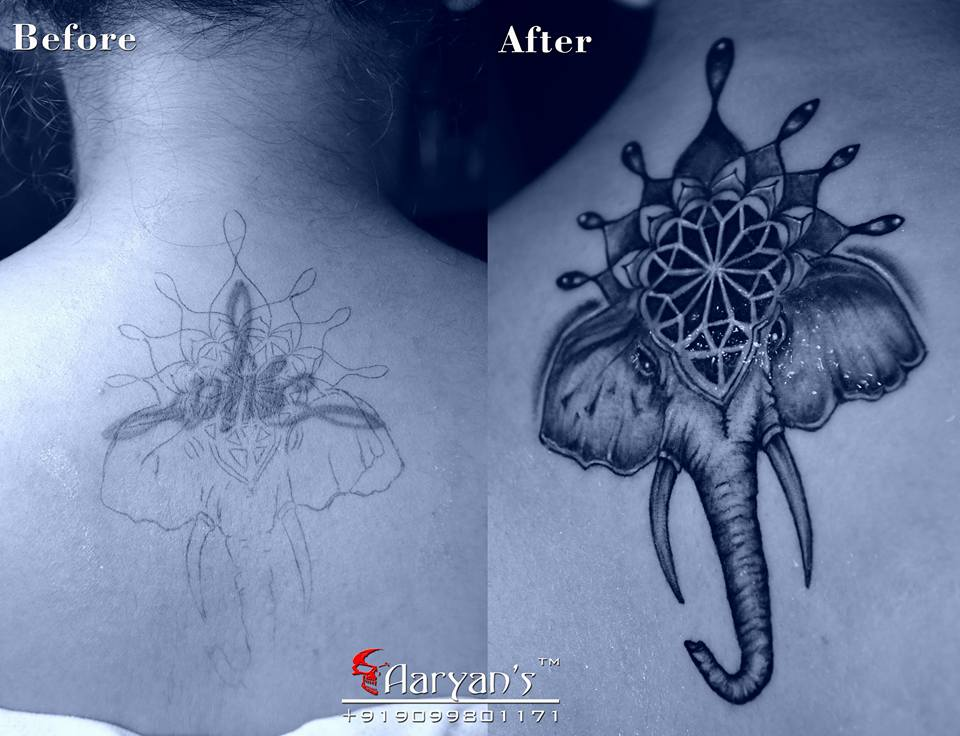 Mandala Cover Up Tattoo 6