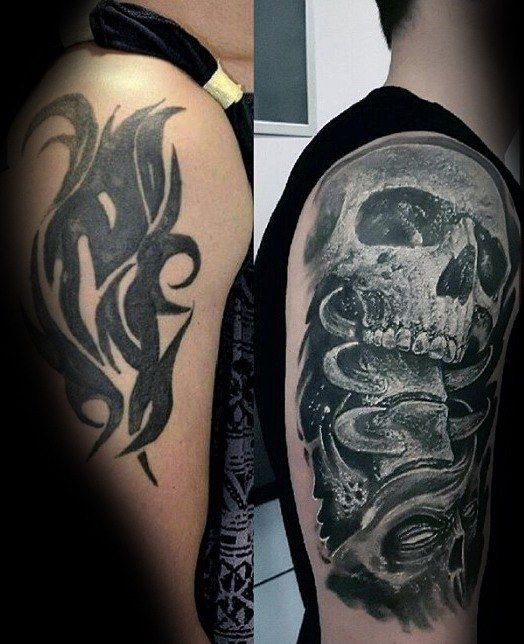 Men Cover Up Tattoo 1