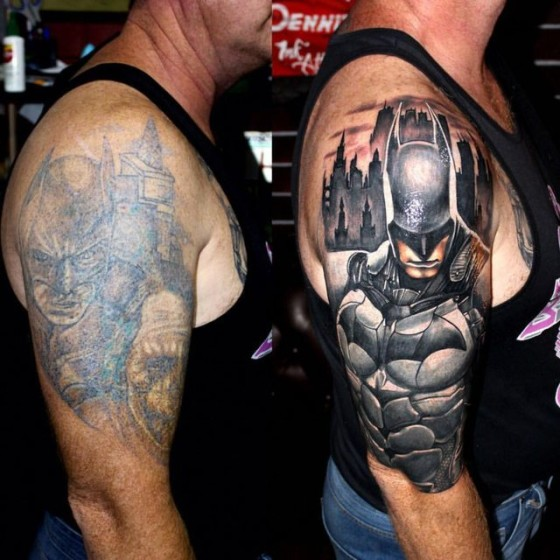 Men Cover Up Tattoo 2