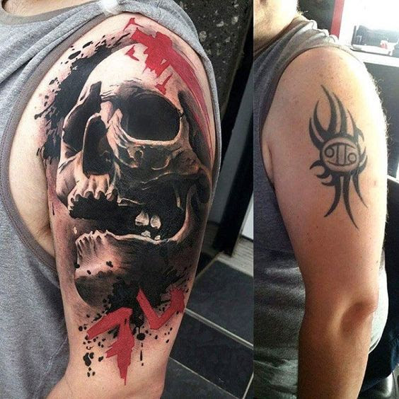 Men Cover Up Tattoo 3