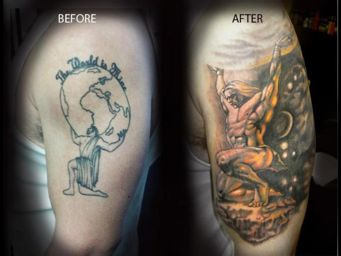 Men Cover Up Tattoo 4