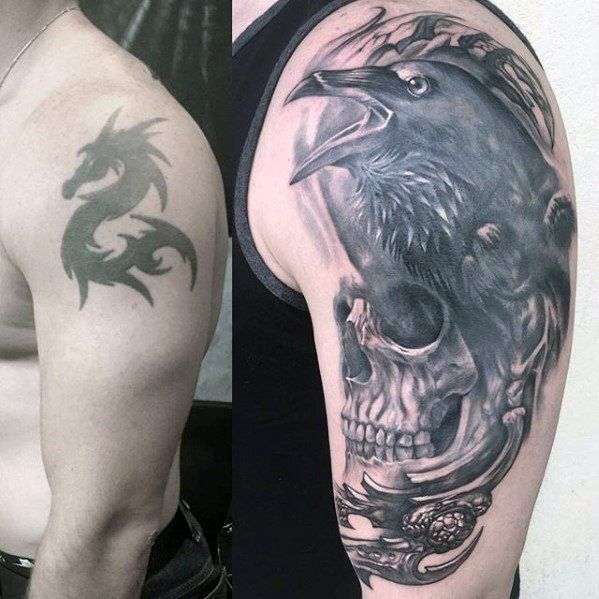 Men Cover Up Tattoo 5
