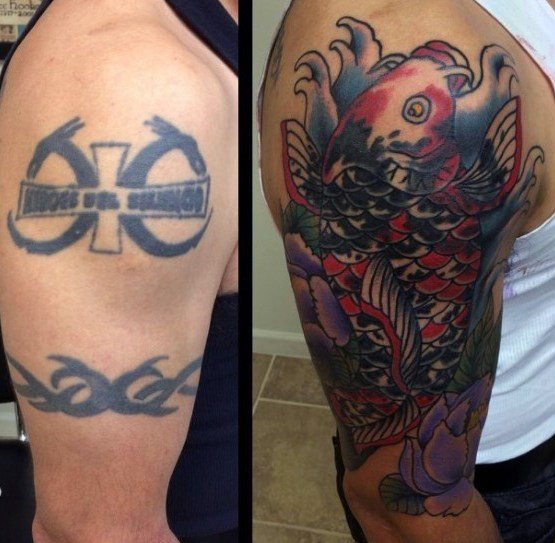 Men Cover Up Tattoo 7