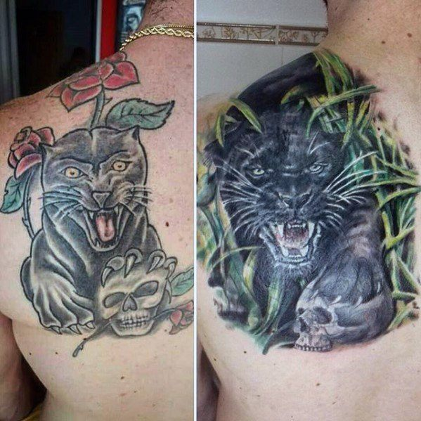 Men Cover Up Tattoo 9