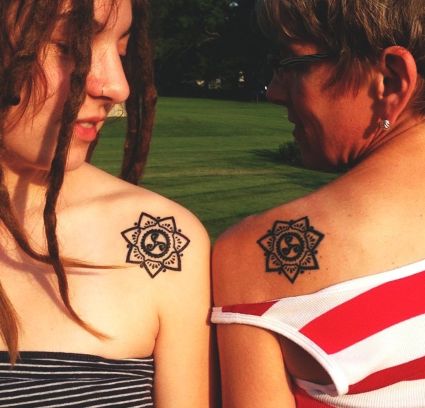 140 Lovely Mother Daughter Tattoos To Show Their Deep Love: 50+ Mother And Daughter Tattoos That Will Encourage Your