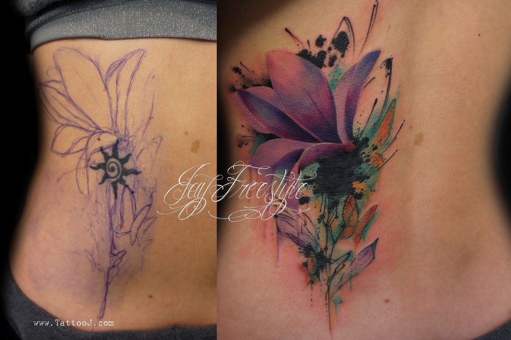 Women Cover Up Tattoo 1