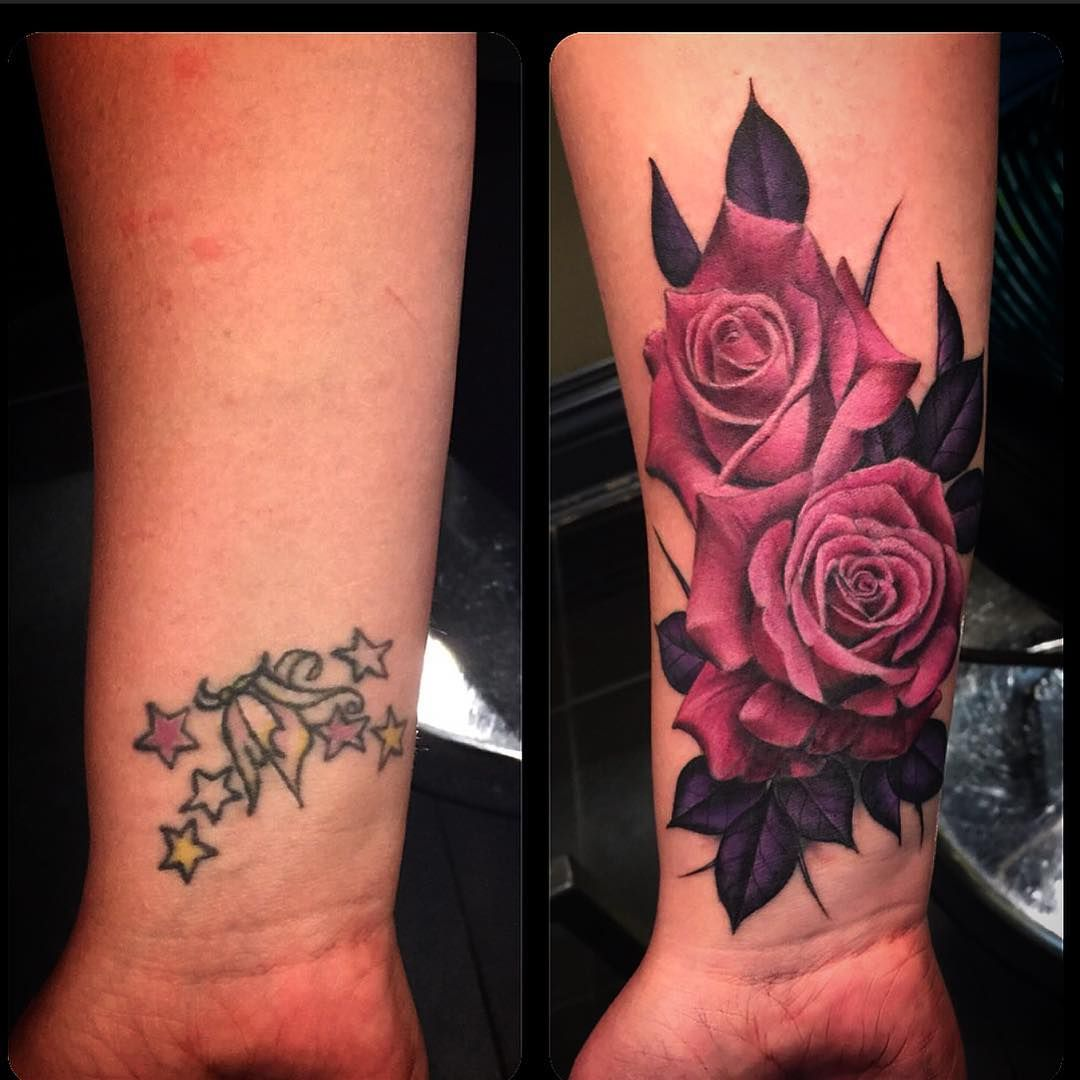 Women Cover Up Tattoo 2