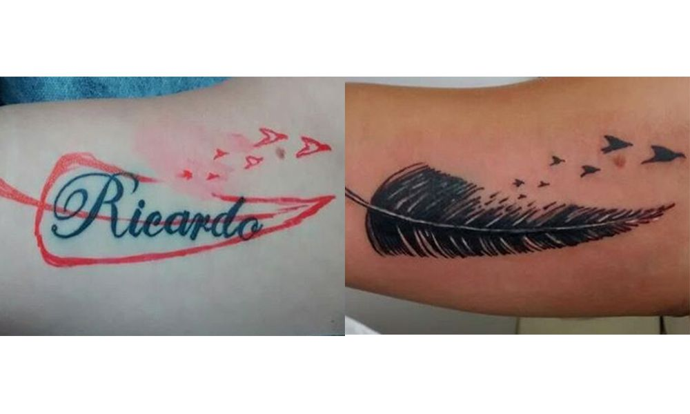 Women Cover Up Tattoo 3